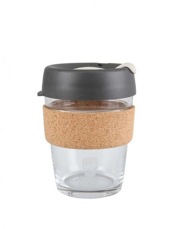 Skleněný hrnek KeepCup Brew Press M - 340 ml