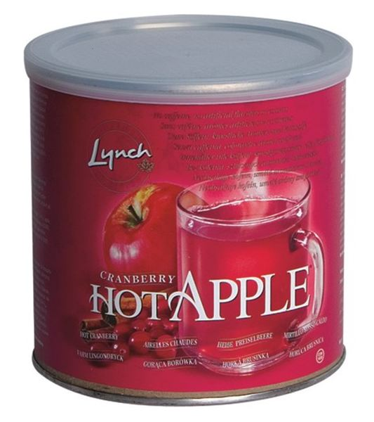 Lynch Hot Apple Cranberry - Horká Brusinka, 553 g