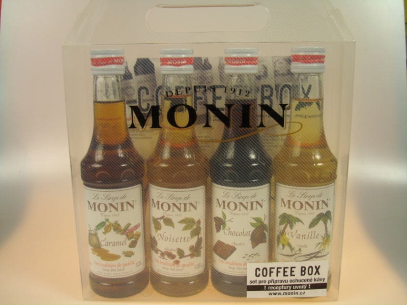 Sada sirupů Monin Coffee Box