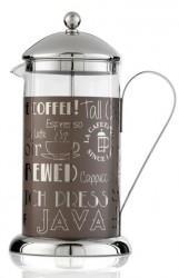 French press La Cafetière Wake Up and Smell the Coffee